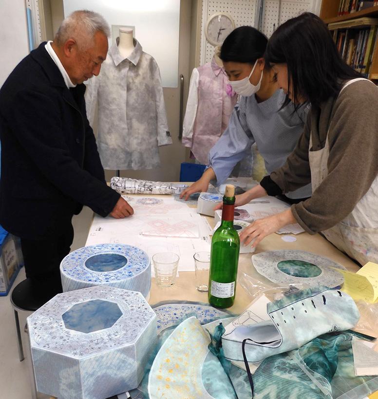 西ノ内紙 「紙衣」の特性を活かしたテキスタイル製品の開発研究